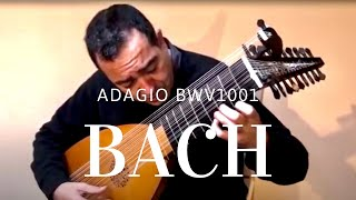 BACH BWV 1001, played on the 13 course lute by Xavier Díaz-Latorre