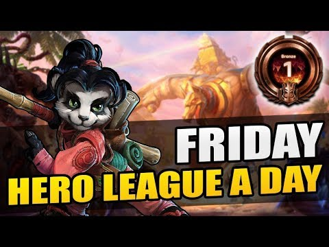 One of YOUR new season games! // Hero League a Day