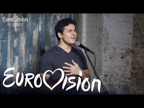 Liam Tamne sings Astronaut - Eurovision: You Decide 2018 Artist