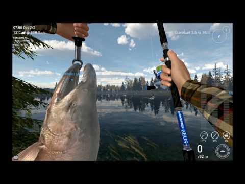 Fishing Planet Alaska PartCloudy day fishing 10uniques v0.7.10