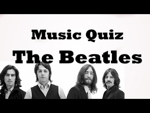 Music Quiz - Beatles