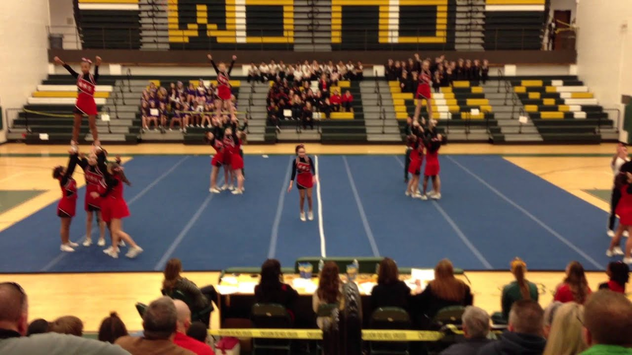 4th Place Woodbridge Middle School Cheer Competition 3
