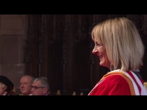 Louise Minchin, Doctor of Letters, University of Chester
