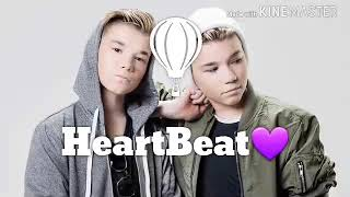 Lirik heartbeat Marcus and Martinus