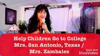 Mrs Zambales Candidate for Mrs Philippine Women Of America, Inc San Antonio Texas. 501(c)3