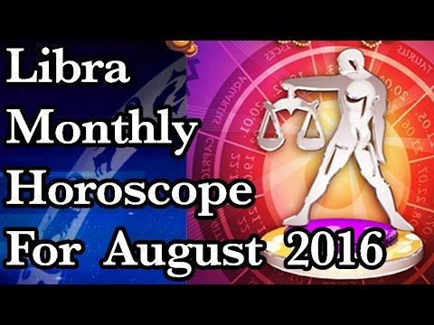 Libra Monthly Horoscope For August 2016 In Hindi | Prakash Astrologer
