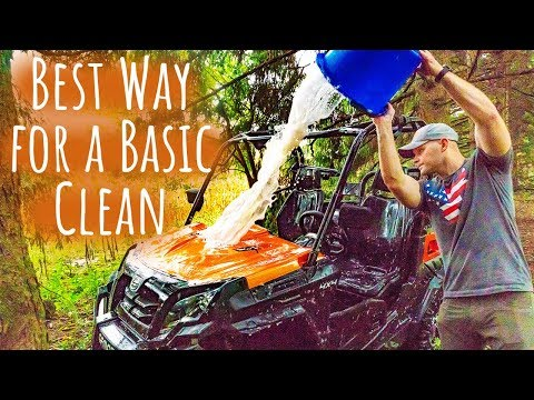 Washing Your ATV // How to Clean the Right Way