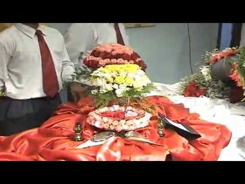 Intra College Flower Arrangement Competition Flv Youtube