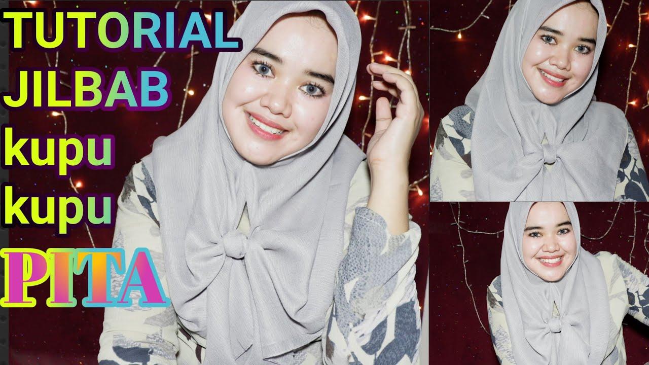 Tutorial Hijab Segi Empat Berpita Model Hijab