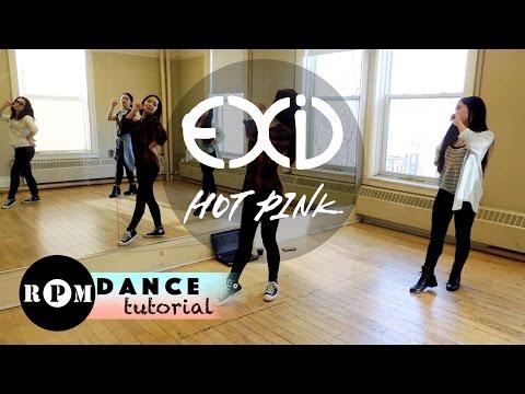 "EXID ""Hot Pink"" Dance Tutorial (Chorus)"