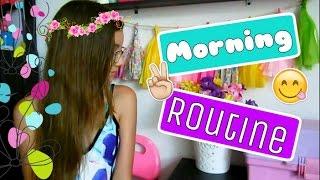 Rutina De Mañana En VACACIONES! ♥ Lulu99