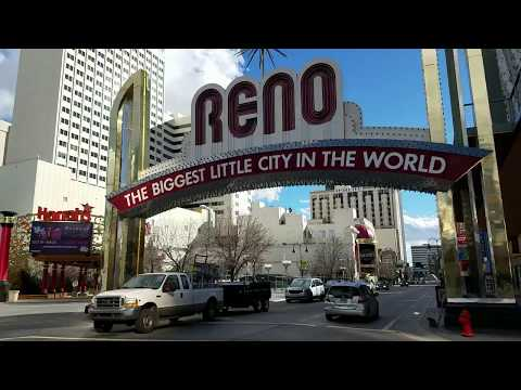 Exploring Downtown Reno - VIDEO TOUR (Reno, Nevada)