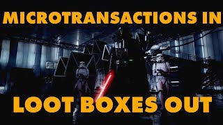 Loot Boxes Out, Microtransactions In For Star Wars Battlefront II