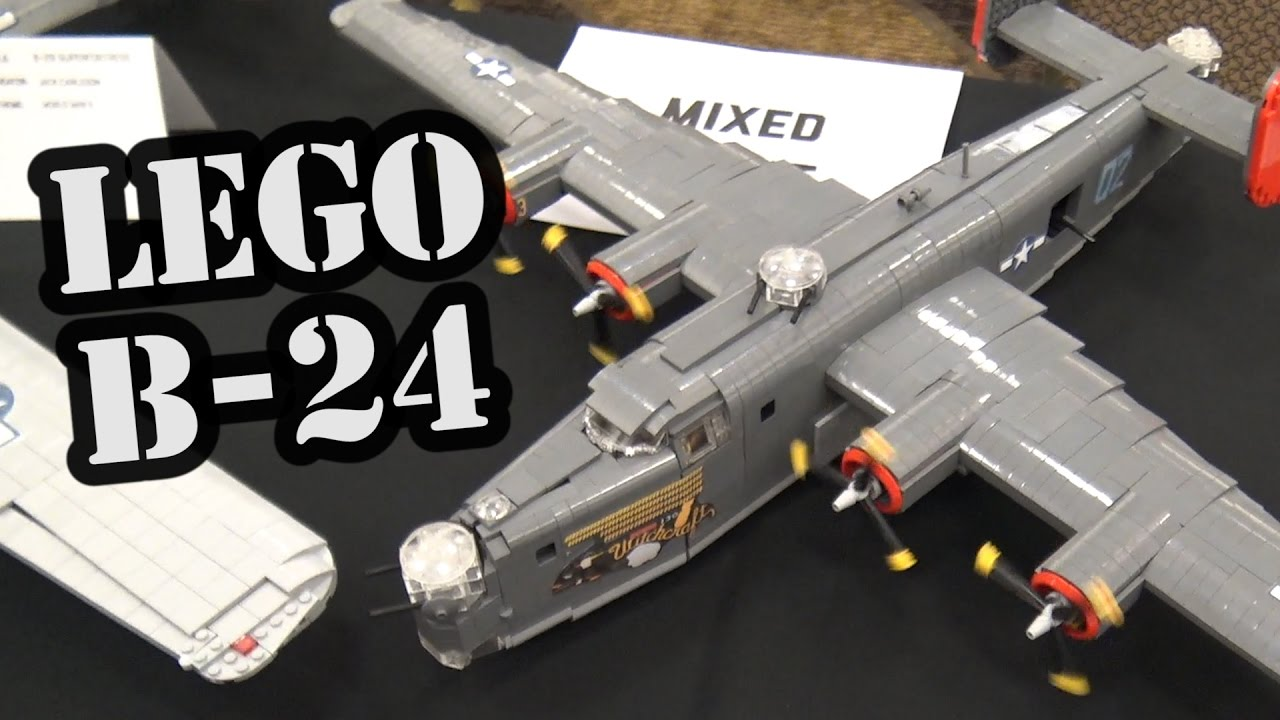 LEGO B-24 Liberator WWII Airplane | World War Brick 2017