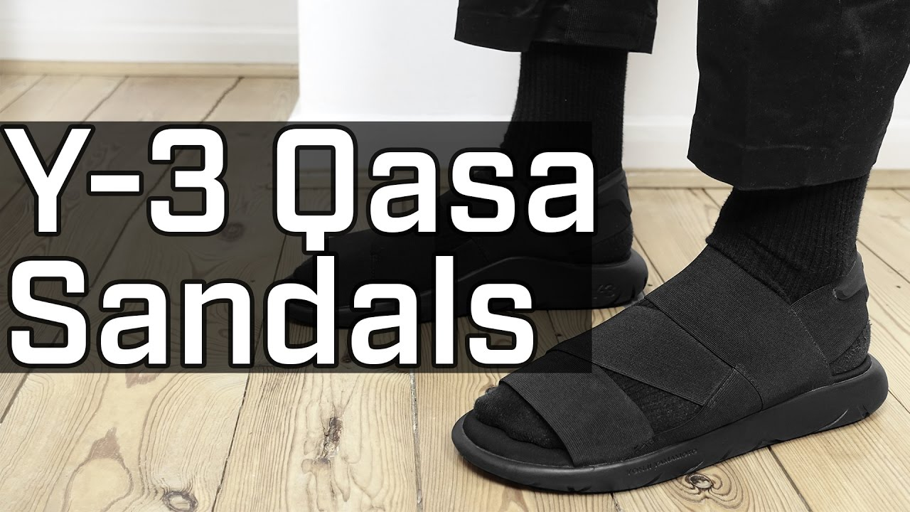 5dca94fa84dfd Summer Tech Shoe - Y-3 Qasa Sandal REVIEW - YouTube