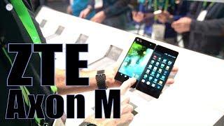 ZTE Axon M: dal vivo al CES lo smartphone con doppio display