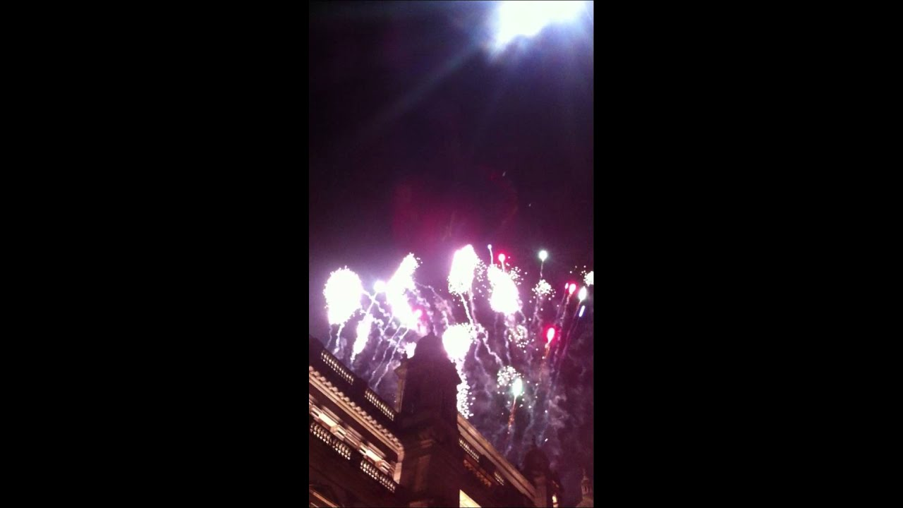 GLASGOW CHRISTMAS LIGHTS & FIREWORKS 2013 - GLASGOW CHRISTMAS LIGHTS & FIREWORKS 2013 - YouTube