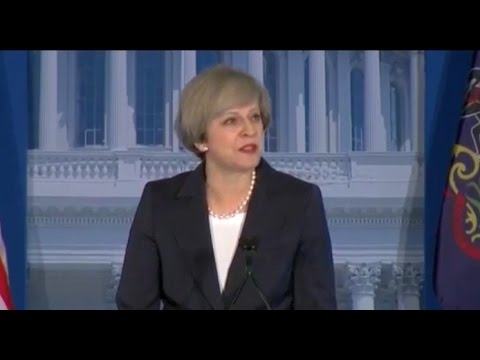 UK Prime Minister Theresa May  - Halt Eclipse of the West FULL Speech
