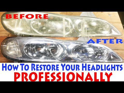 The BEST Way To Clean & Restore Your Foggy Yellow Headlights