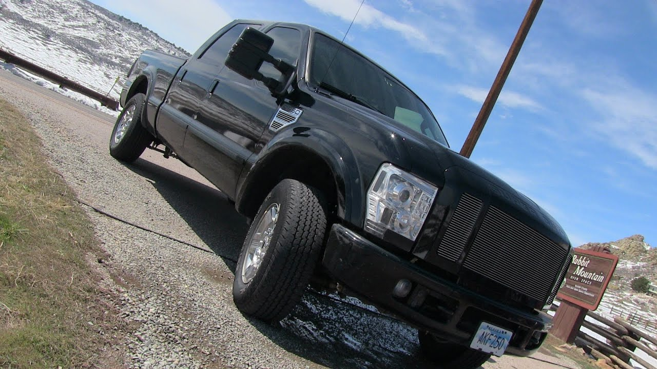 Run what you brung how fast is a tuned 500hp ford f 250 diesel from 0 60 mph youtube