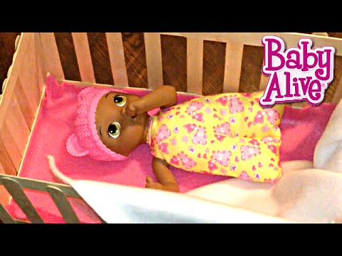 Baby Alive Doll Crib For Snugglin Sarina From Popsicle