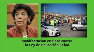 Manifestación en Baza contra Ley Celaá / 22-11-20