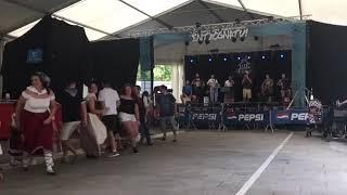 Dantza plaza entxosnazio eguna 2018