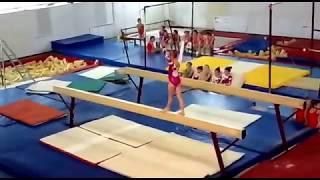 Открытое Первенство Кабардино-Балкарской Республики по спортивной гимнастике. (Бревно)