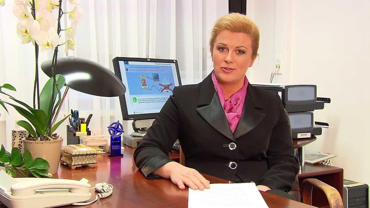 H E  Kolinda Grabar-Kitarovic/Safe Compass 2011