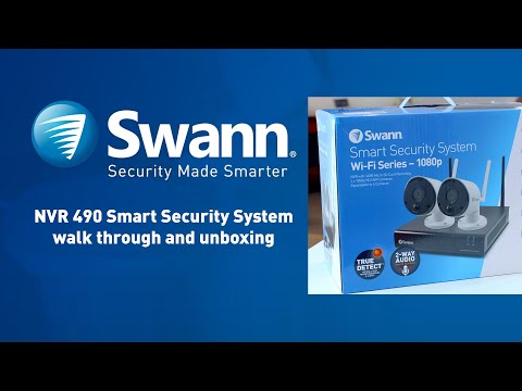 Swann NVR490 walkthrough