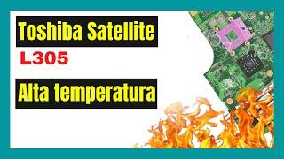 Limpiar el cooler de la notebook Toshiba Satellite L305