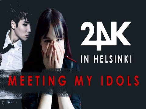 24K IN HELSINKI | meeting my idols vlog