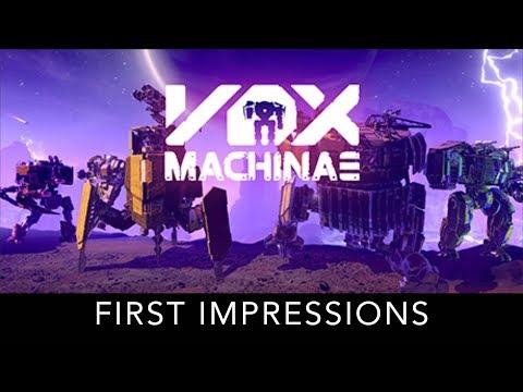 Vox Machinae - First Impressions
