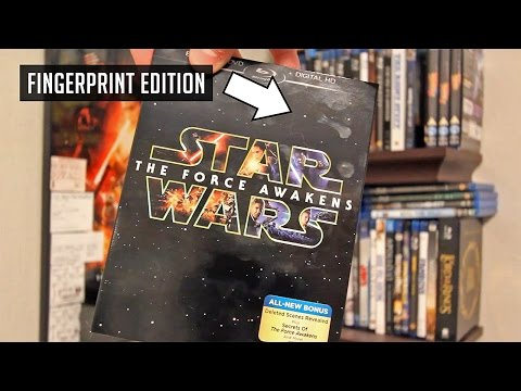 BLU RAY REVIEW - Star Wars: The Force Awakens