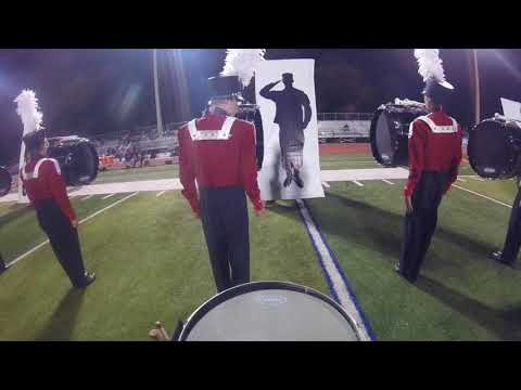 McLean High School Marching Band 2017 Snare Cam