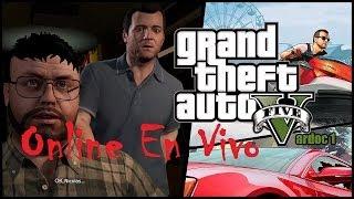 Grand Theft Auto 5 ( Jugando ) ( Online ) #Vardoc1 En Español En Vivo