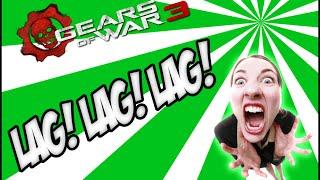 Partida Igualada con altas dosis de LAG! | 2.0 | Gears of war 3