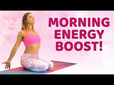 Quick Morning Stretch to Boost Energy & Positivity ♥ My Morning Routine: Stretches, DIY Self Care