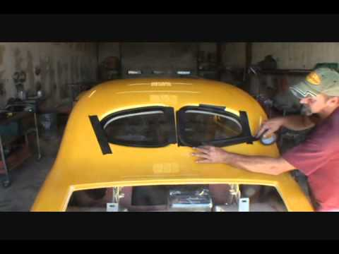 Installing Automotive Glass The Right Way-Streetrods and Custom Cars-Part 3