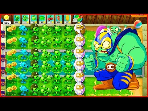Растения против зомби с модом Растение против зомби герои от Фаника