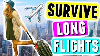 Video ✈️ SURVIVE LONG FLIGHTS! Travel Essentials, Carry-On Bag + Space Saving Hacks! download MP3, 3GP, MP4, WEBM, AVI, FLV Juli 2018