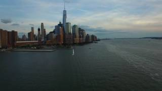 Lower Manhattan by Drone
