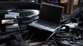 Mercedes MAF wires failed V12 S600. Mass air flows wires V12 M120, engine harness body mounted