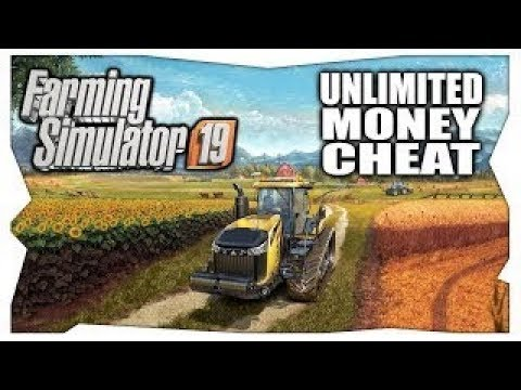 UNLIMITED MONEY CHEATS UPDATED | Farming Simulator 19