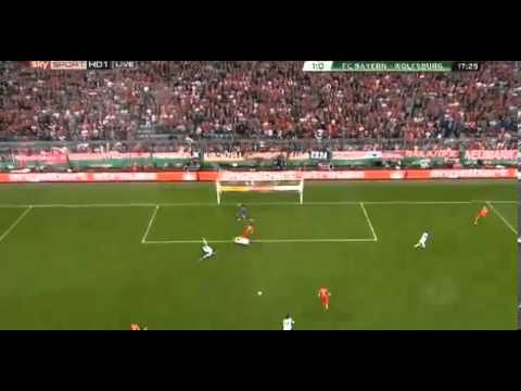 Tor  Mario Mandzukic | | Bayern Munich 6 - 1 Wolfsburg | 16.4.2013