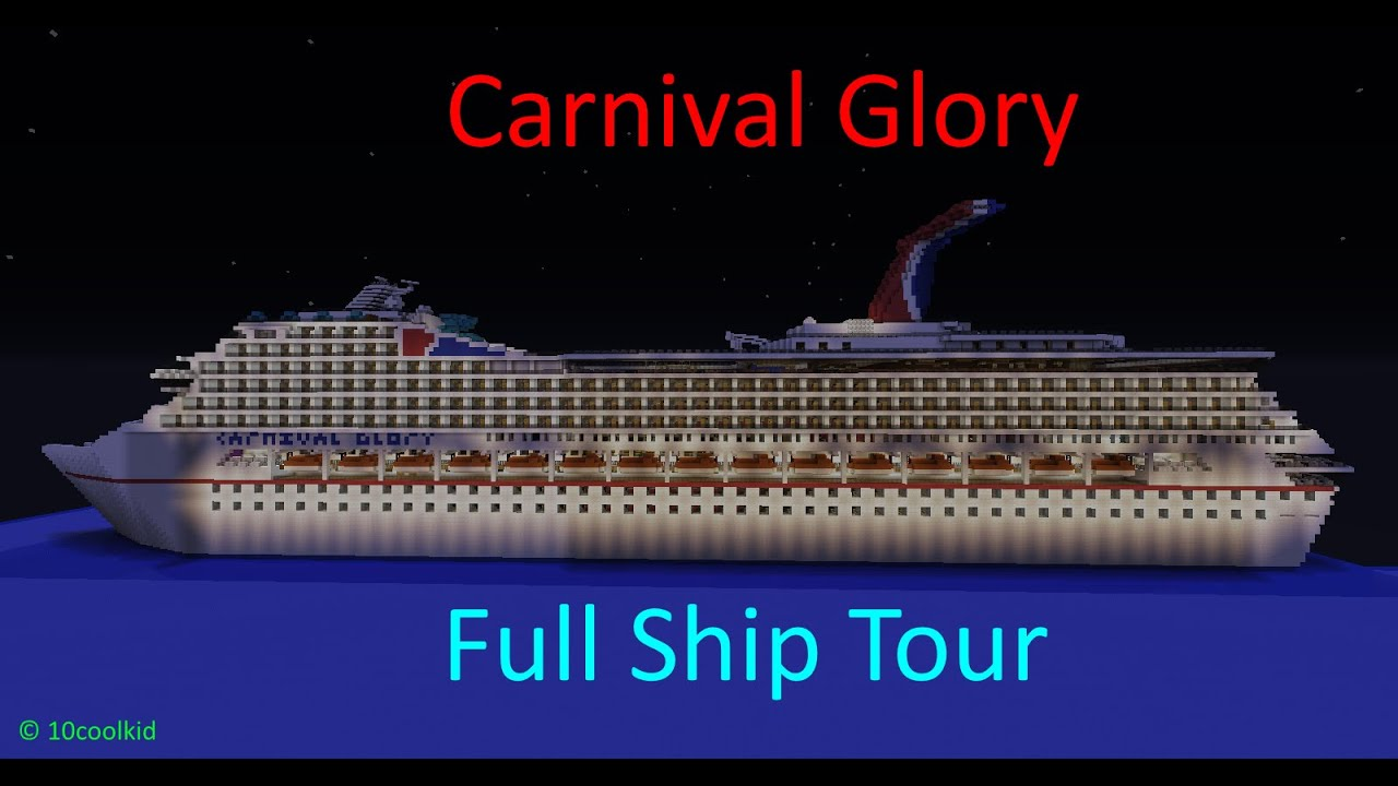 Minecraft Carnival Glory Full Tour 1 1 Scale Full Interior Download Youtube