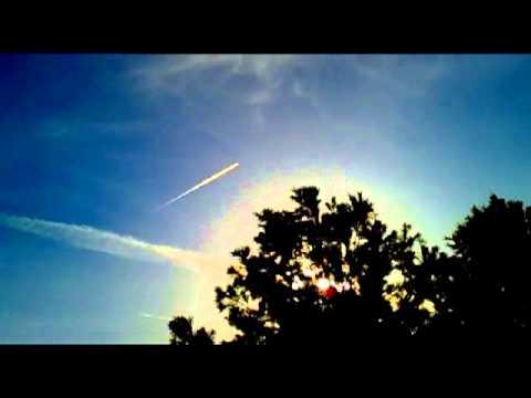 Cielos Quimicos 22 Marzo 2013- Fumigaciones Clandestinas Aéreas -