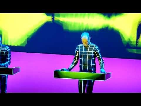 Kraftwerk  3D Live Argentina - Computer Love (02 de 15 videos)
