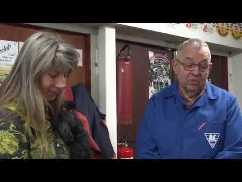 Evald og hans veteranmotorcykler og en saltslette  i USA