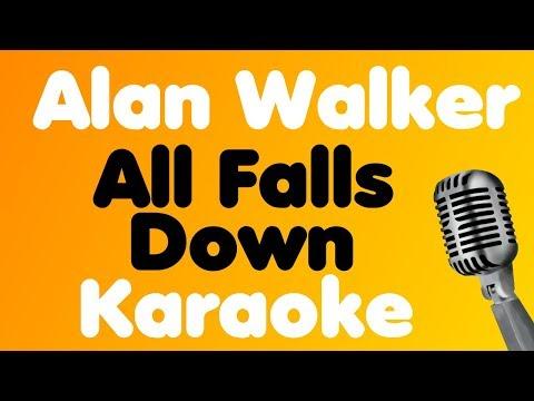 Alan Walker • All Falls Down (feat. Noah Cyrus with Digital Farm Animals) • Karaoke